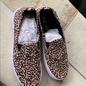 ASOS Leopard Sneakers size 9